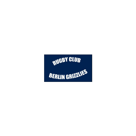 Berlin Grizzlies Trainingsjacke mit abnehmbarer Kapuze Rückseite Saison 2018/2019
