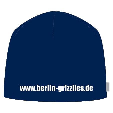 Berlin Grizzlies Mütze Rückseite Saison 2018/2019