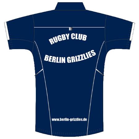 Berlin Grizzlies Poloshirt Rückseite Saison 2018/2019